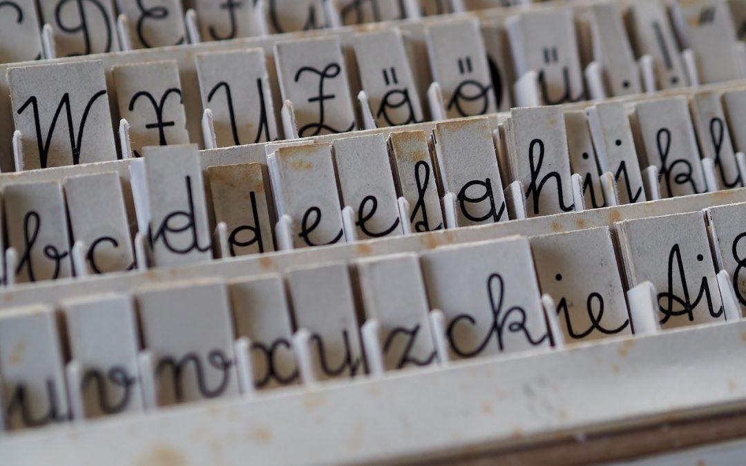 Einfach tadellos! 5 Tipps für die richtige Schrift in Ihrer Biografie