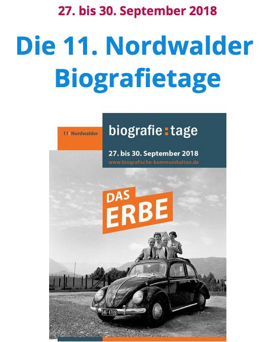 Spannend: Nordwalder Biografietage